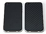 Carbon back panel